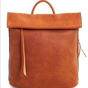 Handbags - LAST ONE!✨ NWT! Cognac Leather Backpack
